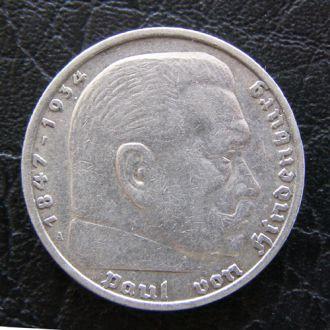 5 марок  1935 год серебро