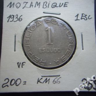 1 искудо Мозамбик 1936