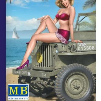 Master Box 24006 Pin-up serie Samantha (1/24)