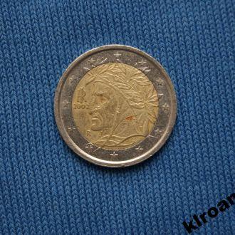Италия 2 евро 2002 г