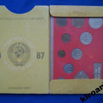 СССР Годовой набор 1987 г ЛМД