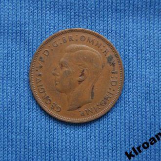 Великобритания 1 пенни 1947 г