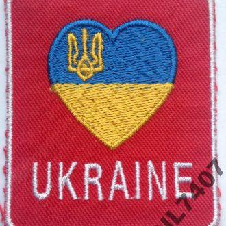 Украина Ukraine ШЕВРОН НАШИВКА