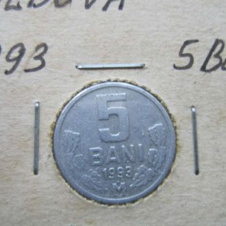 5 бани Молдова 1993