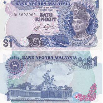 Malaysia Малайзия - 1 Ringgit 1976 UNC JavirNV