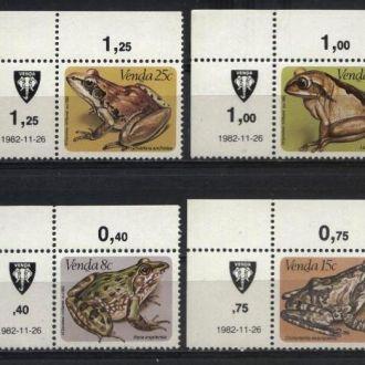 ЮАР Венда Фауна 1982 MNH