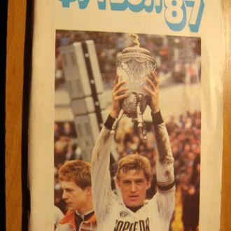 Футбол 1987 год