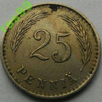 Финляндия 25 пенни 1937 год