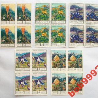 Цветы 1976 г ( квартблоки )