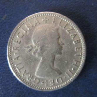 2 шиллинга Великобритания 1961