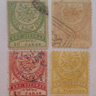 Марки Турции  1884 г