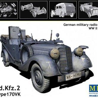Master Box 3531 Sd.Kfz.2 Mersedes Typ 170VK