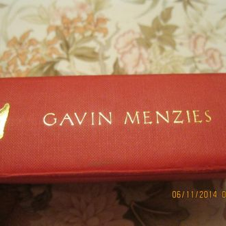 на английском языке книга GAVIN MENZIES 421
