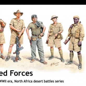 Master Box 3594 Allied forces 1940-43