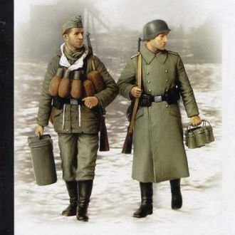 Master Box 3553 German soldiers, 1944-1945