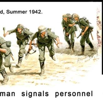 Master Box 3540 German Signals Personnel, 1942