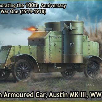 Master Box 72007 Austin Mk.III, WW1