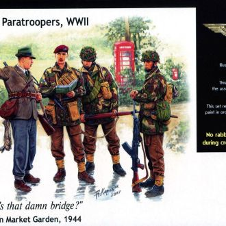 Master Box 3533 British Paratroopers, WWII