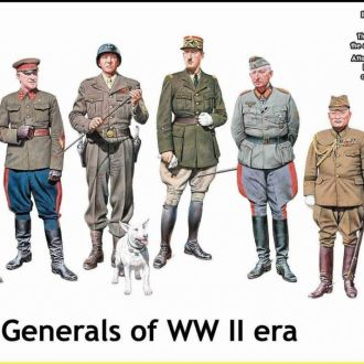 Master Box 35108 The WW2 generals