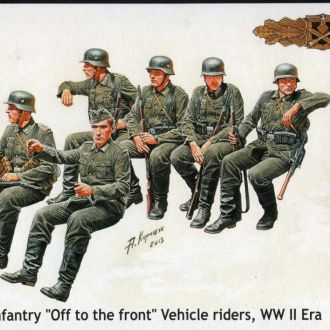 Master Box 35137 German infantry vechicle riders