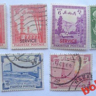 Пакистан 1954 - 55 гг