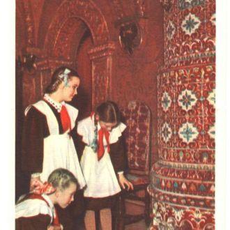 Пионеры в теремах Большого Кремля 1956 Умнова Чист