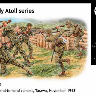 Master Box 3544 Hand-to-hand combat, Tarawa, 1943