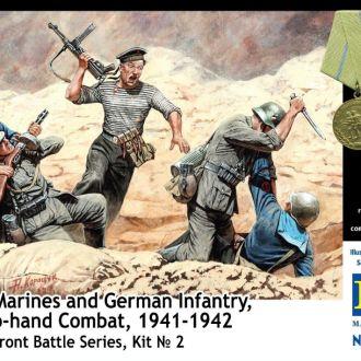 Master Box 35152 Soviet naval infantry&germans
