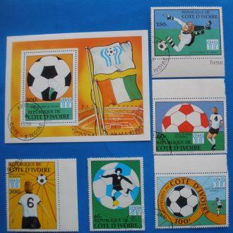 Кот Дивуар. 1978 г. ЧМ по футболу в Аргентине