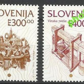 Словения 1994 стандарт культурное наследие 2м.**