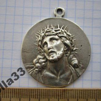 Медаль (медальон) Иисус в венце