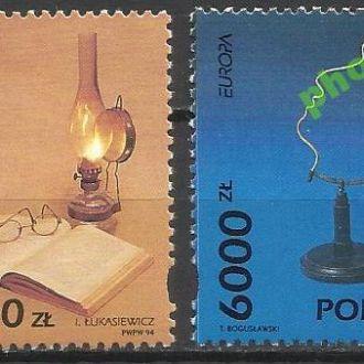 Польша 1994 Европа СЕПТ наука 2м.**