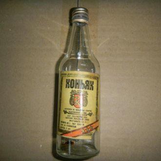 бутылка СССР бутылочка из под коньяк 0.1л