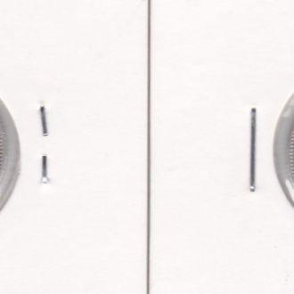 С Сетлментс - 10 Cents 1926 VF серебро в холдере