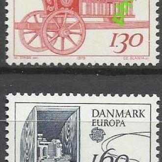 Дания 1979 Европа СЕПТ транспорт почта 2м.**
