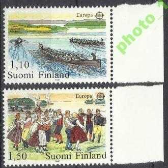 Финляндия 1981 Европа СЕПТ фольклор танцы 2м.**