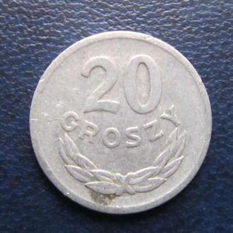 20 грошей Польша 1968