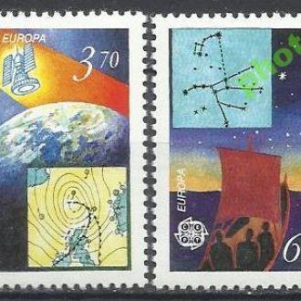 Фареры 1991 Европа СЕПТ космос 2м.**
