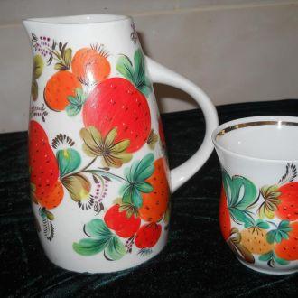 Кувшин + чашка Коростень