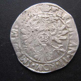 флорин Св. Римская имп. 17-й век Феhдинан II сереб