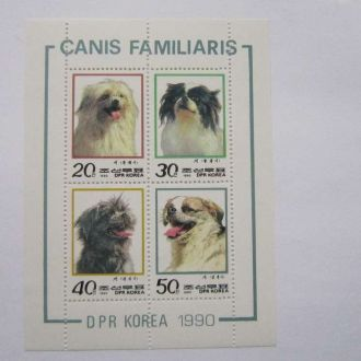 блок собаки Корея н/гаш 1990