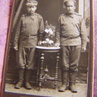 Фото военных, май 1917года