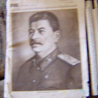"""Журнал """"""""огонек"""", 6.11.49"""
