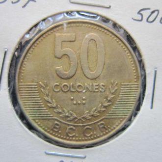 50 колон Коста Рика 1997