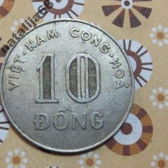 Вьетнам 1964 год монета 10 донг !