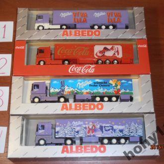 Грузовые автомобили Herpa Albedo M 1:87 H0