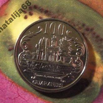 Парагвай 2007 год монета 100 гуарани !