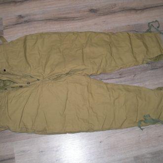 Брюки утепленные штаны 54 р-р 4 рост 74 год новые