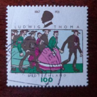 Германия,ФРГ,№1870-0.9эвро