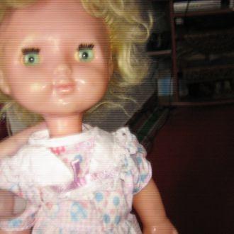кукла СССР на резинках 45 см